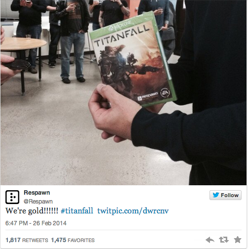 Respawn's Titanfall Goes Gold, Sets Release For Late March