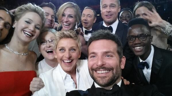 Selfless Selfie: Ellen Degeneres' Infamous Group Pic Benefits Charities