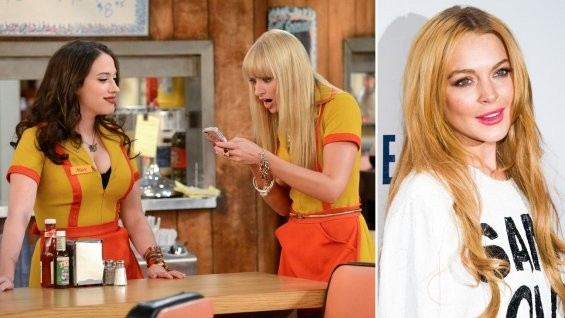 Lindsay Lohan To Appear On 2 Broke Girls