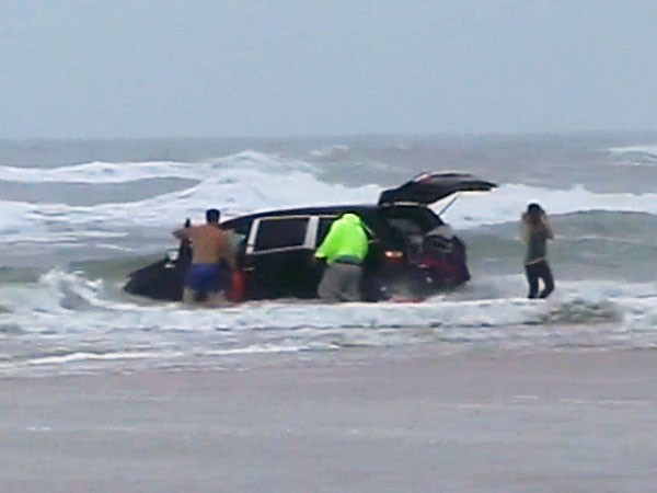 Mother Drives Into Ocean With Three Children