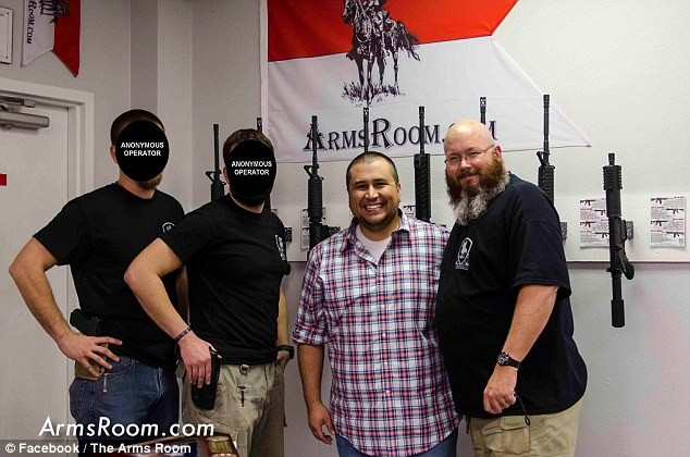 This Seems So WRONG: George Zimmerman Signs Autographs At A GUN SHOW