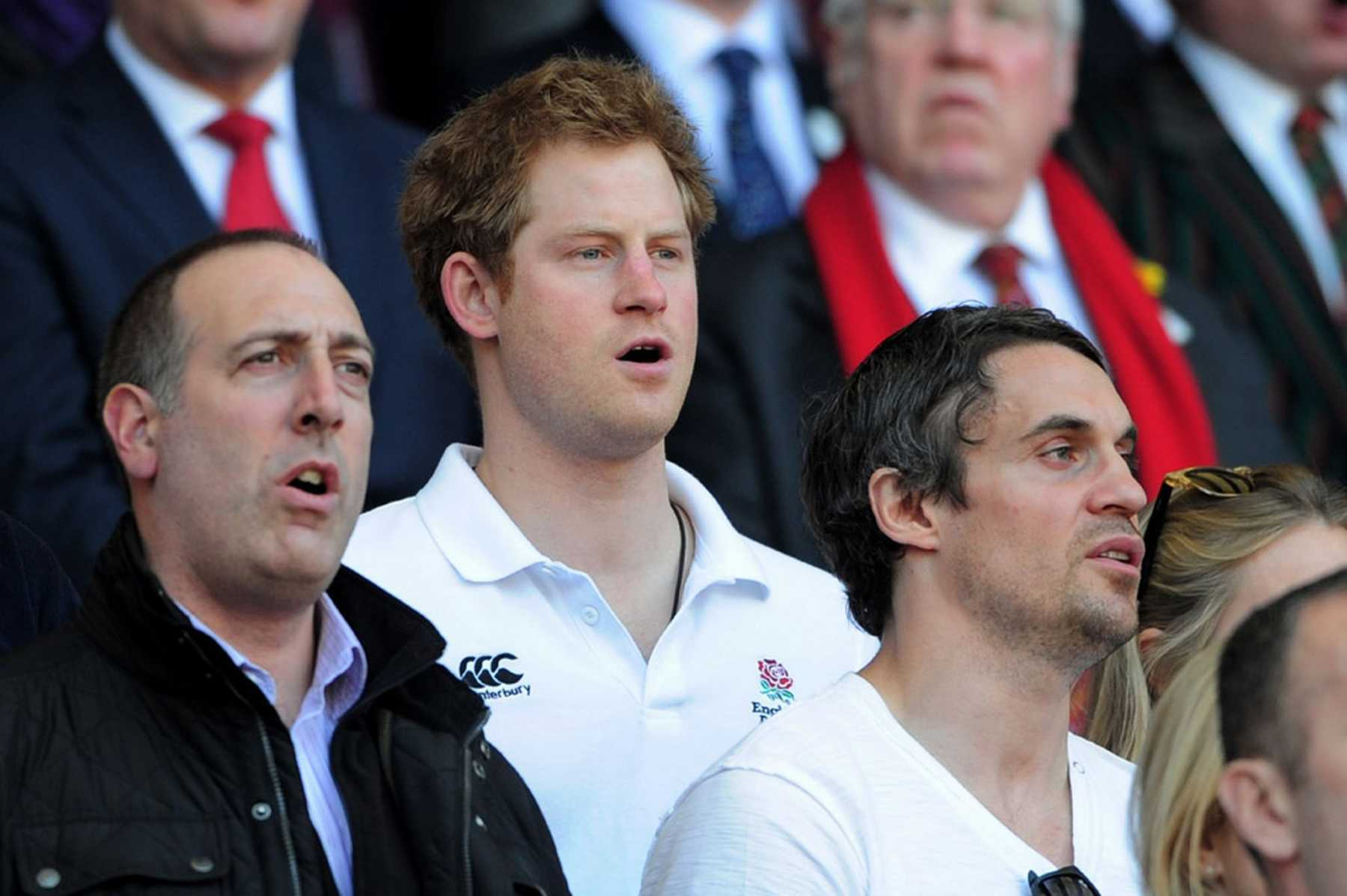 Prince Harry And Cressida Bonas Go Public Attending A Rugby Game