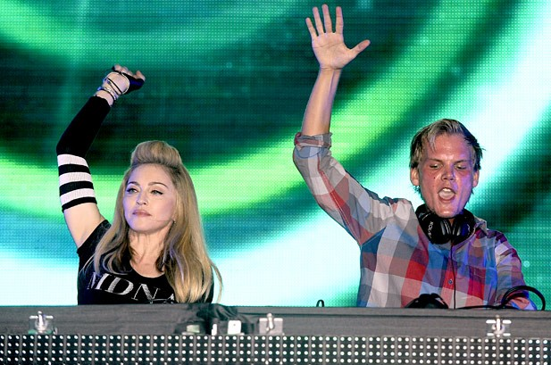 Amazing Music Abounds As Madonna Teams Up With Avicii