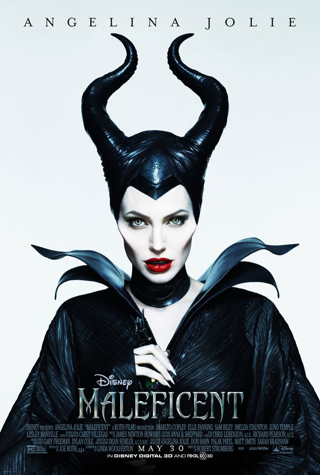 Angelina Jolie Looks Bewitchingly Wicked In The Latest 'Maleficent' Poster