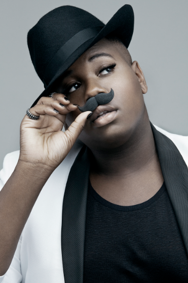 Glee's Alex Newell Shares Some Of His Fabulous With Frontiers
