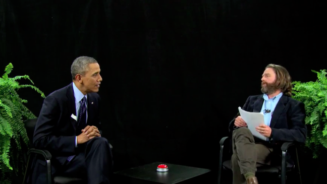 President Obama Tells Zach Galifianakis What's What On Between Two Ferns