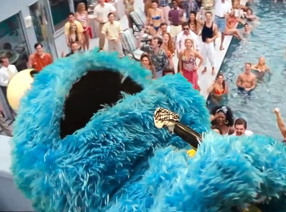 The Wolf Of Wall Street and Sesame Street - Together In A New Video Mashup