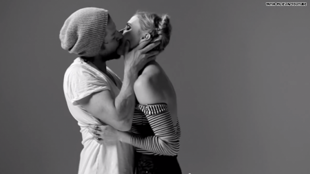 Awkward Or Romantic? Filmmaker Gets 20 Random Strangers To Kiss For The First Time...On Video