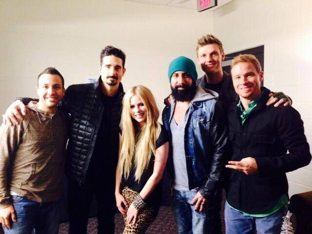 The Backstreet Boys Are Back On Tour With Sk8ter Girl Avril Lavigne