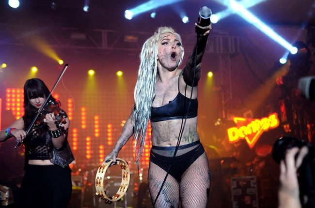 Lady Gaga Defends Vomit Stunt at SXSW