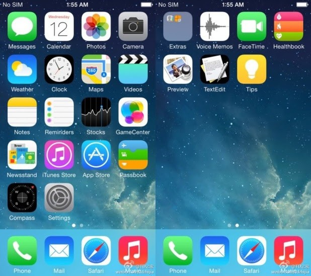 Check Out The New Leaked Photos Of Apple's iOS 8
