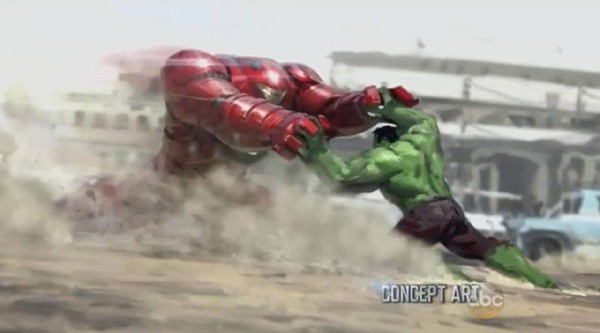 Marvel Releases Concept Art For Ant-Man & Avengers: Age Of Ultron