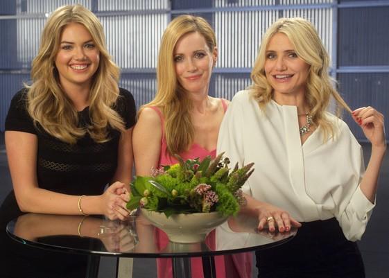 Kate Upton, Cameron Diaz And Funny Lady Leslie Mann Announced As MTV Movie Award Presenters