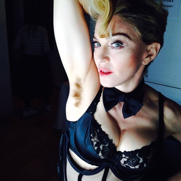 Is The Queen Of Pop Starting To Flop? Madonna Shows Off Her Underarms Online