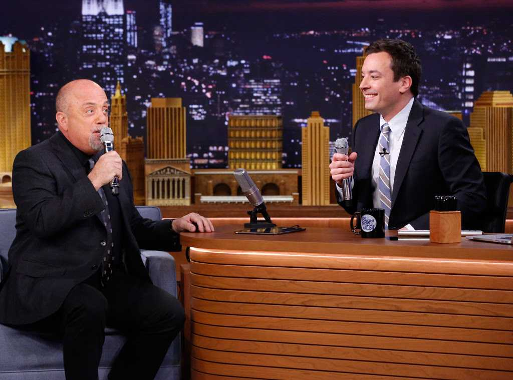 Jimmy Fallon and Billy Joel Doo-Wop Together On The Tonight Show