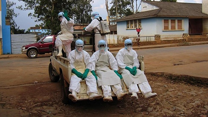 Health Officials In Guinea Fight Outbreak Of Ebola