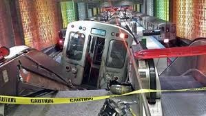 Chicago Transit Train Derails Upon Arrival At O'Hare Station