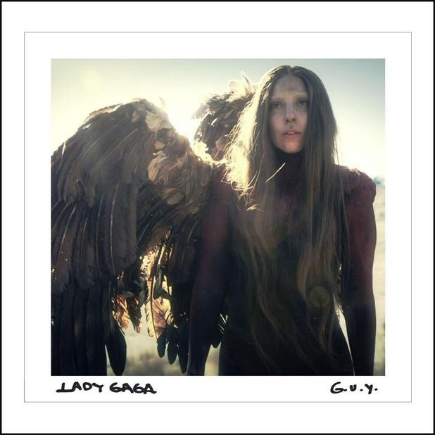Lady Gaga Rises From The Ashes And Shares Single Cover Art For G.U.Y.