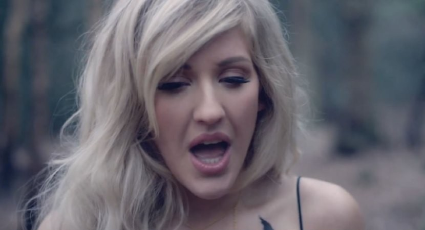 Ellie Goulding Goes Into The Woods For