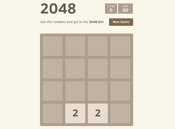 2048 – Hands Down The Most Addictive Game Since Candy Crush