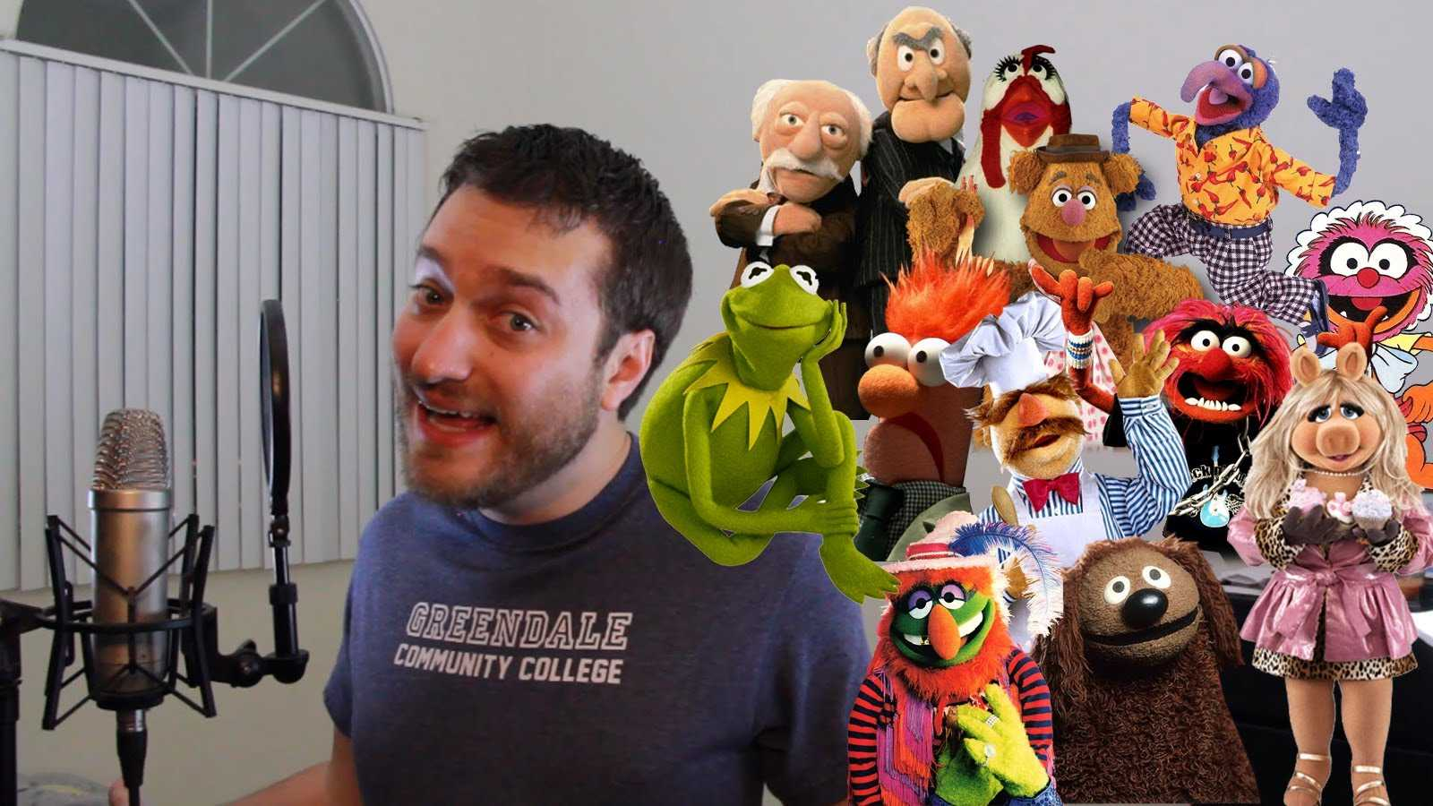 Brock Baker Brings The Muppets To Life Impersonating Their Voices While Singing