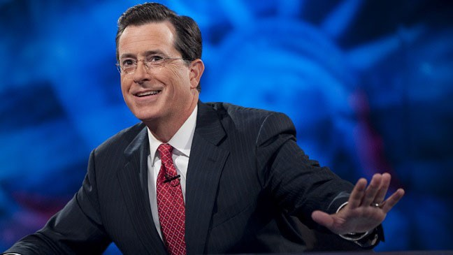 Stephen Colbert Is CBS' Top Candidate To Replace David Letterman