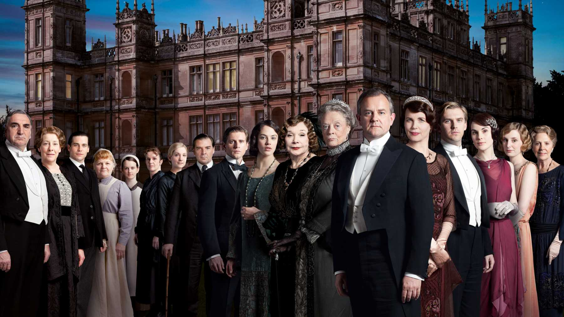 'Downton Abbey' Meets 'Harry Potter': What If Dowager Countess Grantham Attended Hogwarts?
