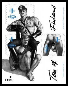 Homoerotic Stamps Released In Memory Of Finnish Artist Touko Laaksonen