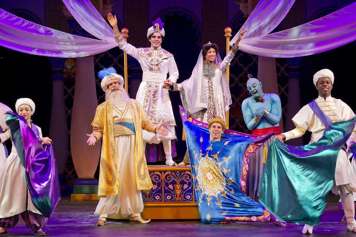 'Aladdin' The Musical Gives Disney Fans A Sneak Peek On 'Good Morning America'