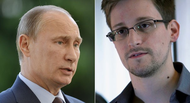 Edward Snowden Poses Controversial Question To Russian President Vladimir Putin
