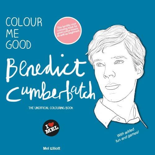 Benedict Cumberbatch And His Loyal Cumbercookies Inspire A Coloring Book