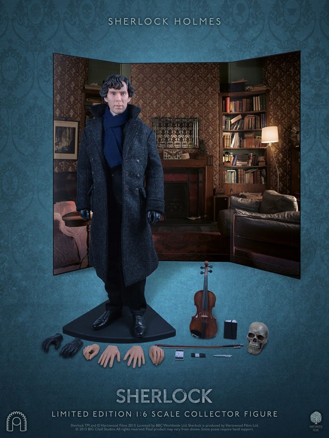 Now Every Fan Can Own Sherlock's Benedict Cumberbatch And Martin Freeman