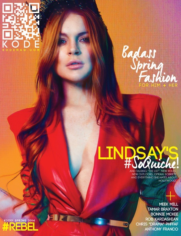 KODE Magazine Blatantly Questions Lindsay Lohan's Sobriety In Newest Issue