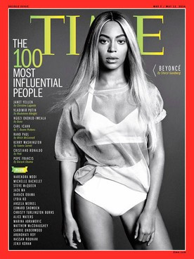 Beyoncé Tops The List Of Time Magazine's Most Influential