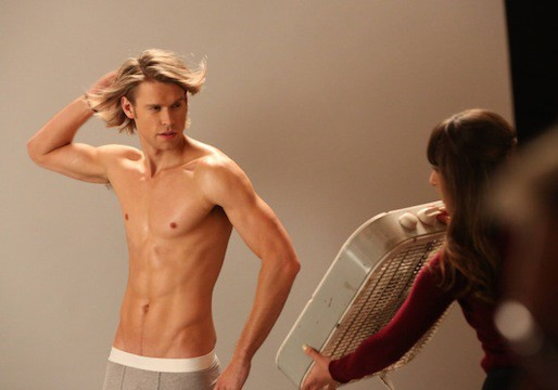 GLEEKS!  See New Photos of Chord Overstreet Shirtless!