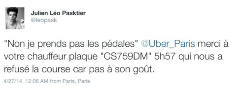 Uber Driver In Paris Fired After Rudely Refusing Service To Gay Couple