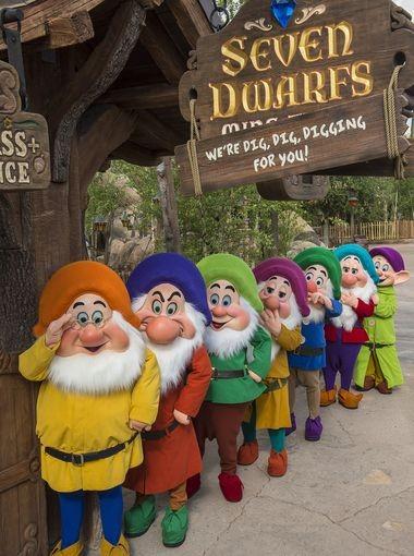 First Look At Walt Disney World's New Seven Dwarves Roller Coaster
