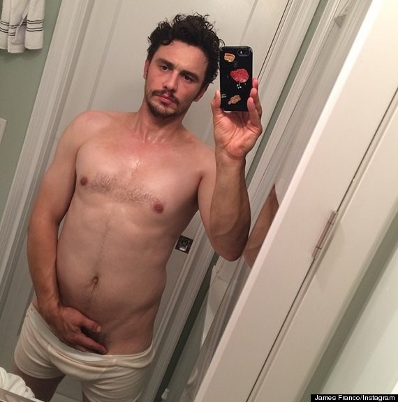 James Franco Quickly Deletes His NSFW Selfie, Needs An Insta-vention