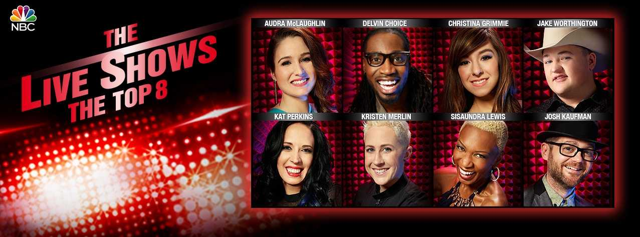 The Top Eight Tackle The Third Round Of Live Performances On The Voice