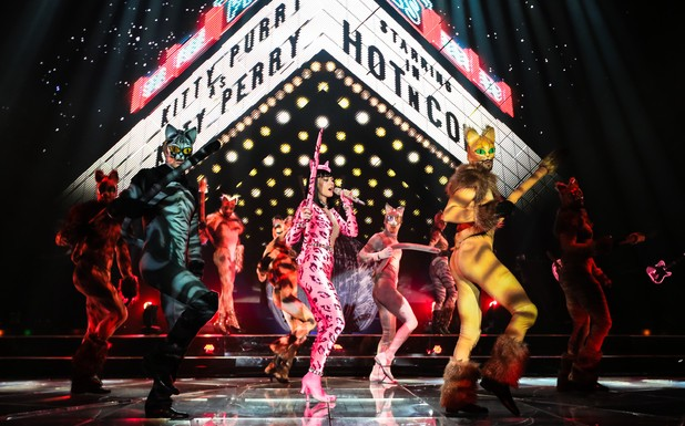 Baby You're A Firework!  Katy Perry Kicks Off Prism Tour In Style