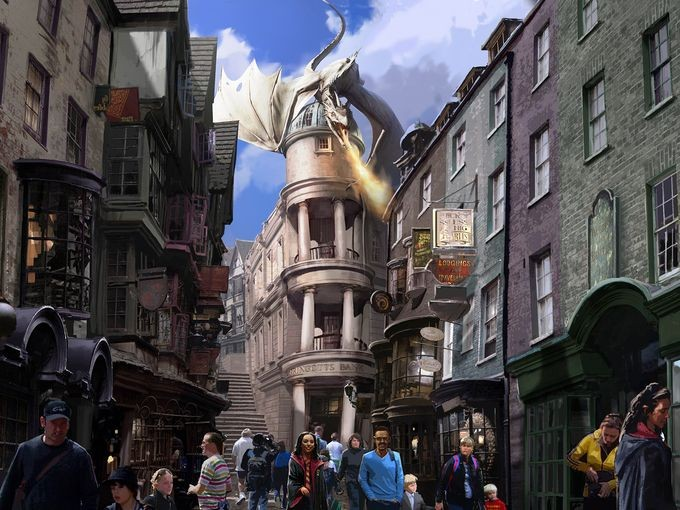 Grab Your Floo Powder And Take A Trip To Diagon Alley In Orlando