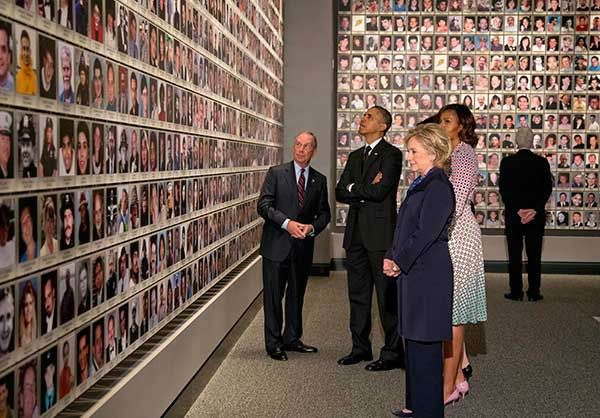 President Obama Pays Tribute To Lives Lost At New Ground Zero Museum