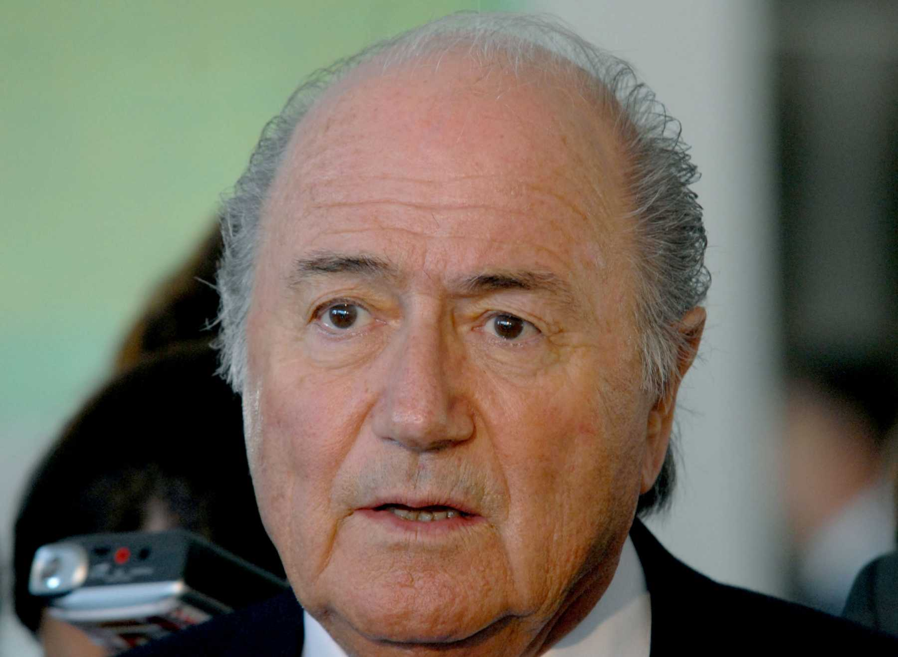 FIFA President Sepp Blatter Says Holding The World Cup In Qatar Is A 'Mistake'