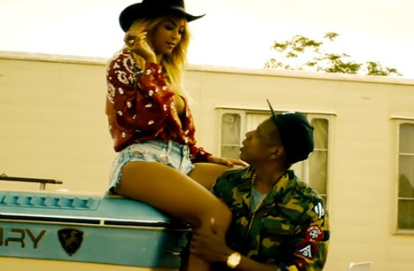 "Jay-Z And Beyonce Are ""On The Run"" In Their (Fake) Film Trailer"