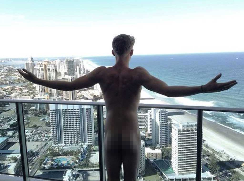 NSFW: Cody Simpson Flashes The World From His Balcony