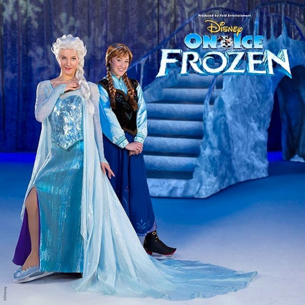 Let The Storm Rage On: Anna And Elsa Are The Stars Of The Next Disney On Ice Spectacular!