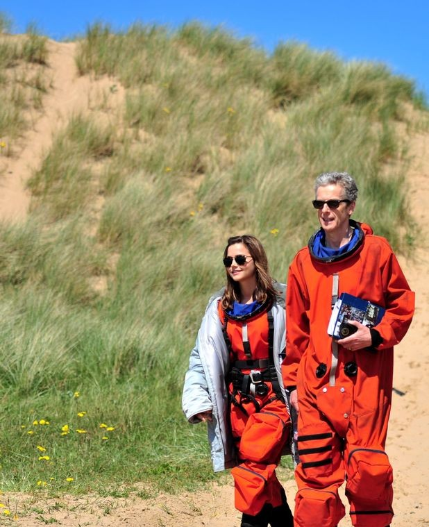 New On-Set 'Doctor Who' Photos Show Stars Sporting Space Suits