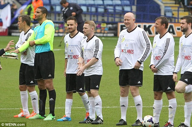 One Direction's Niall Horan Gathers Celebrities For Charity Football Match