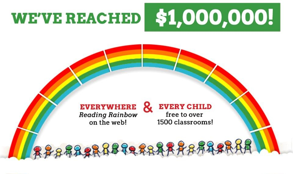 Levar Burton's Kickstarter Campaign Soars Past Its Goal Breathing New Life Into Reading Rainbow
