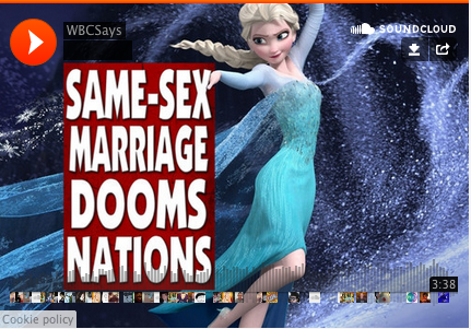 Frozen Minds, Frozen Hearts: The Westboro Baptist Church Releases Its Own Cover Of